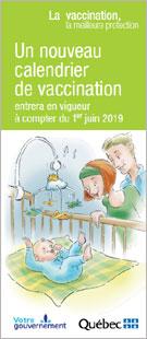 Nouveau Calendrier Vaccinal 2019.Un Nouveau Calendrier De Vaccination Entrera En Vigueur A